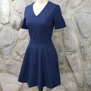 Diane Von Furstenberg Navy Jeannie Dress